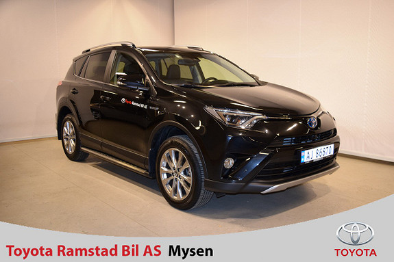 Toyota RAV4 Hybrid AWD Executive  2017, 7 500 km, kr 489 000,-