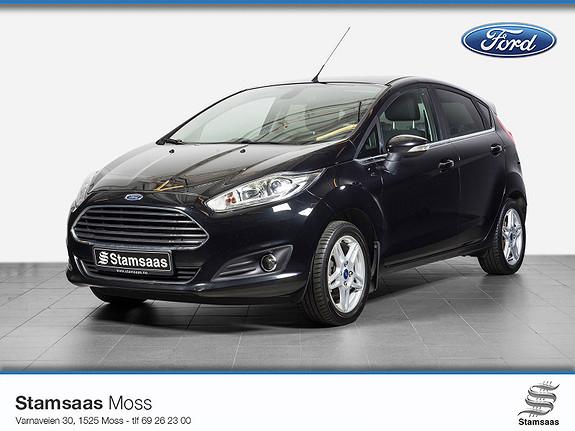 Ford Fiesta 1,0 80hk Titanium l Navigasjon l Radio DAB+ l