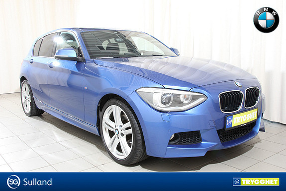 BMW 1-serie 118i Msport,navi,dab, ja bilen er topp utstyrt