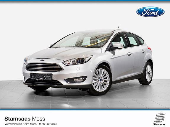 Ford Focus 1,0 EcoBoost 125hk Titanium X Navigasjon l Radio DAB+ l