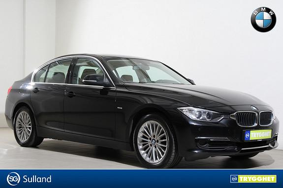 BMW 3-serie 320d xDrive 163hk aut LuxuryLine-DAB+-Navi-Xenon-PDC++