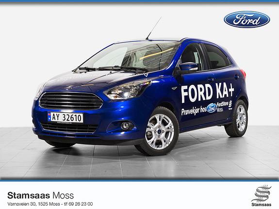 Ford Ka+ 1,2 Ti-VCT 85hk l Radio DAB+ l