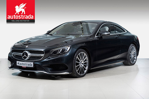 Mercedes-Benz S-Klasse S500 Coupe AMG 4Matic 455HK LOADED