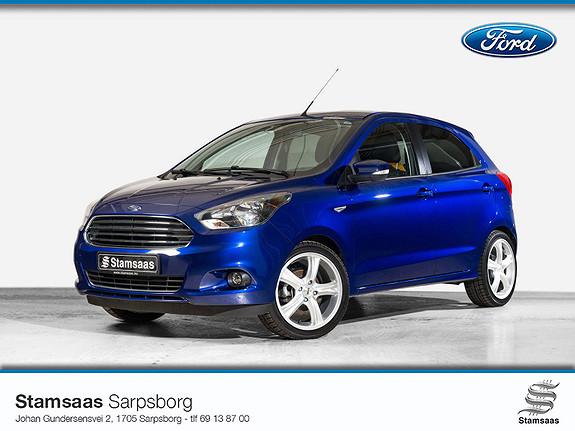 Ford Ka+ 1,2 Ti-VCT 85hk l Bluetooth l DAB l Cruise l Sensorer l