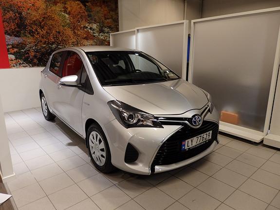 Toyota Yaris 1,5 Hybrid Active  2015, 2300 km, kr 189000,-