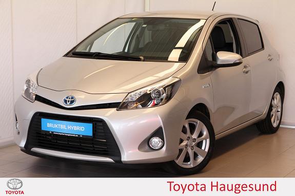 Toyota Yaris 1,5 Hybrid Style e-CVT kamera, cruise, Bluetooth, Tecty  2013, 27377 km, kr 160000,-