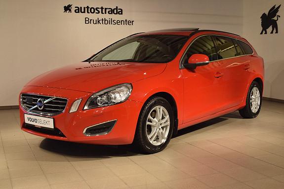 Volvo V60 D3 Momentum Driversupport, Volvooncall, Skinn, Tluke,163hk  2012, 67000 km, kr 239000,-
