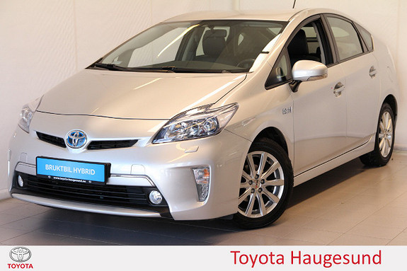 Toyota Prius 1,8 VVT-i Plug-in Hybrid Advance Navi, HUD, Tectyl  2012, 46905 km, kr 199000,-