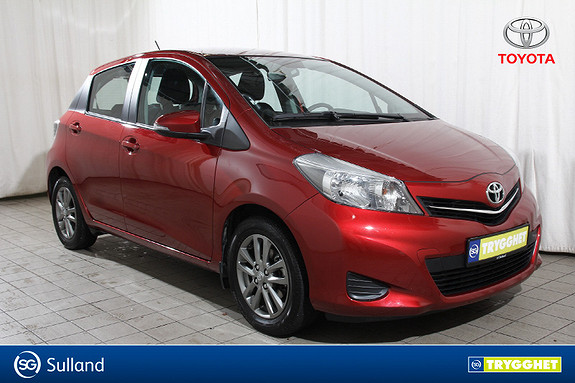 Toyota Yaris 1,33 Active med lav km.