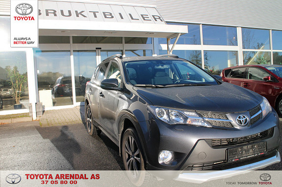 Toyota RAV4 2,0 D-4D 4WD 71'N Editon  2015, 26500 km, kr 359000,-