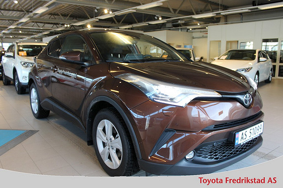 Toyota C-HR 1,2T Supreme Tech 4WD aut , demobil selges, LED lys, na  2016, 8000 km, kr 379000,-