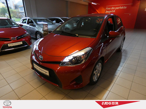 Toyota Yaris 1,5 Hybrid Active e-CVT M. Ryggekamera og DAB+  2014, 72100 km, kr 149000,-