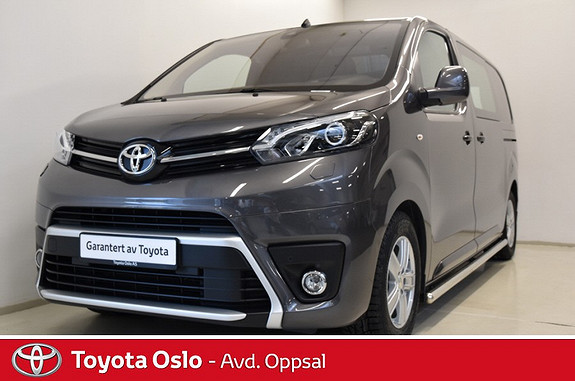 Toyota Proace 2,0 D 177 Comfort Plus L1H1 , Automat, Hengerfeste,  2017, 15432 km, kr 379900,-