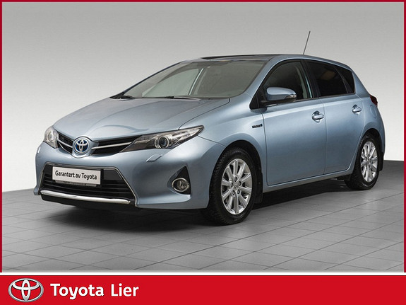 Toyota Auris 1,8 Hybrid E-CVT Active Go navi Hybrid, dab+, navi  2014, 31816 km, kr 199000,-