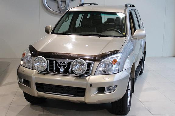 Toyota Land Cruiser 3.0 VX 8-seter Automat m/skinn  2004, 224599 km, kr 244000,-