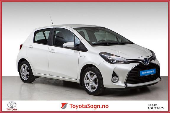 Toyota Yaris 1,5 Hybrid Active+ e-CVT aut  2015, 17960 km, kr 179000,-
