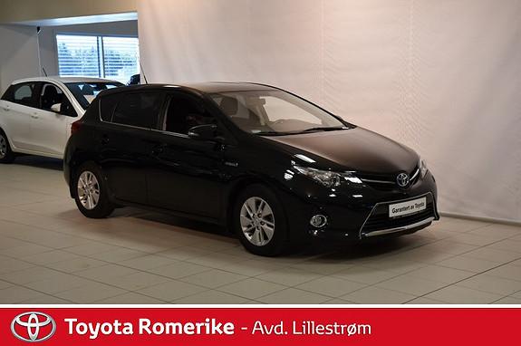 Toyota Auris 1,8 Hybrid E-CVT Active  2013, 53498 km, kr 199000,-