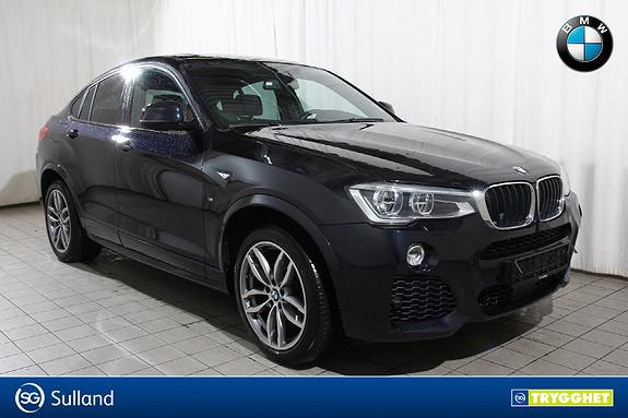 BMW X4 xDrive 20dA 190hk Msport-Nav-Skinn-HeadUp-Ad.LED-Ad.cru