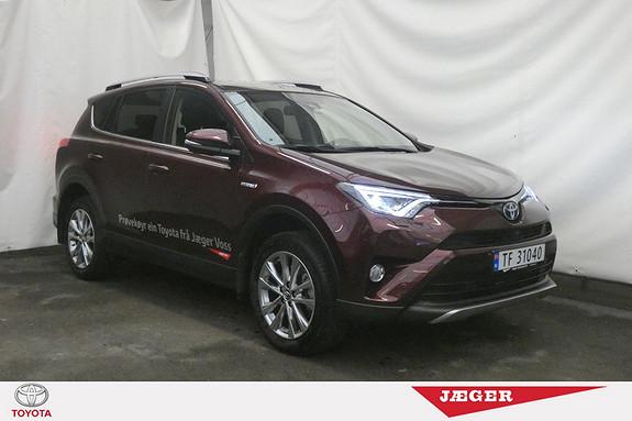 Toyota RAV4 Hybrid 4WD Executive DEMOBIL! TOPPMODEL!  2017, 7900 km, kr 459000,-
