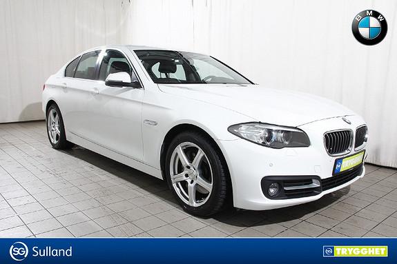 BMW 5-serie 525xdA  Norsk-Kompl.service-NAV-SKINN-En eier-Oppv.ratt