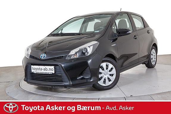 Toyota Yaris 1,5 Hybrid Active e-CVT RENTEKAMPANJE  2014, 37700 km, kr 159000,-