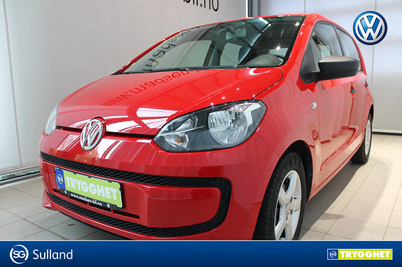 Volkswagen UP! 1,0 60hk BMT Take up! DAB+ ISOFIX CITY NØDBREMS