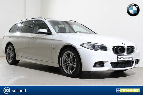 BMW 5-serie 520d xDrive Touring 163hk aut M-Navi-DAB+-El.seter++