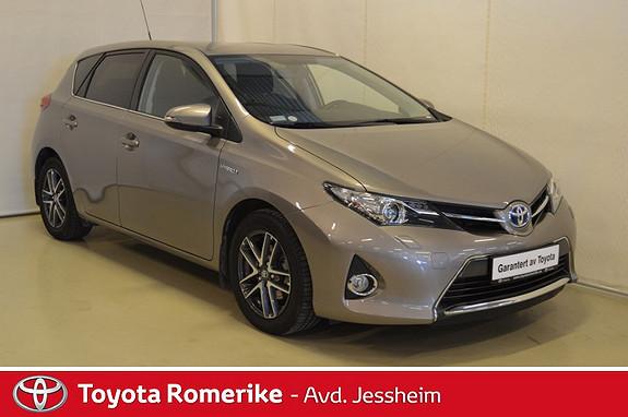 Toyota Auris 1,8 Hybrid E-CVT Active+  2014, 23600 km, kr 219000,-