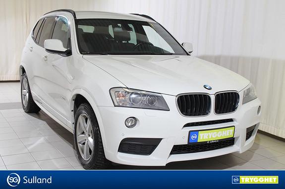 BMW X3 xDrive20d 163hk Automat MSport