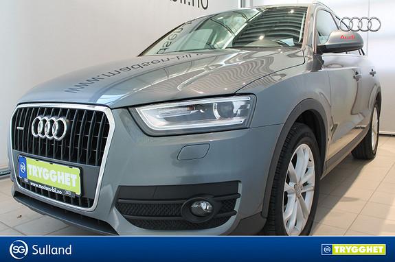 Audi Q3 2,0 TDI 140hk quattro DAB+, BLUETOOTH, CRUISE