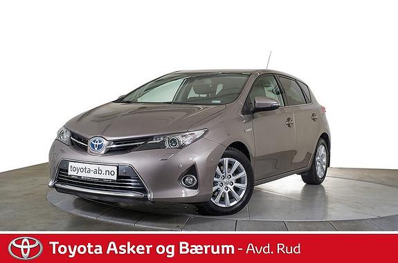 Toyota Auris 1,8 Hybrid E-CVT Executive  2014, 19440 km, kr 239000,-