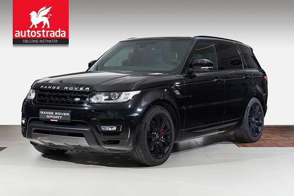 Land Rover Range Rover Sport 3,0SDV6 HSE Dynamic/Ad.cruise/Webasto/Panorama/7 seter  2016, 41000 km, kr 1129000,-