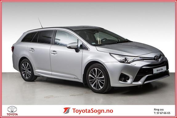 Toyota Avensis 1,6 D-4D Active HENGERFESTE, UNDERSTELLSBEHANDLING  2015, 33600 km, kr 269000,-
