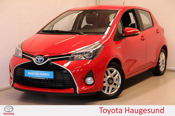 Toyota Yaris 1,5 Hybrid Active S e-CVT Navi, kamera, B/T, Tectyl  2016, 20583 km, kr 199000,-