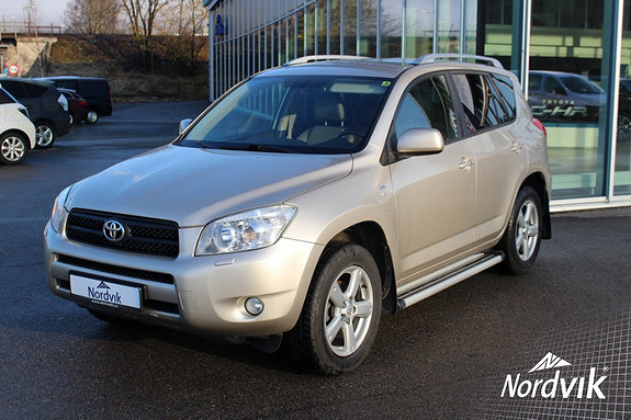 Toyota RAV4 2,2 D-4D 136hk Executive  2007, 147 468 km, kr 149 000,-