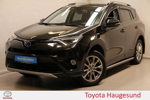 Toyota RAV4 Hybrid AWD Executive Skinn, navi, kamera360, Tectyl  2017, 6813 km, kr 489000,-