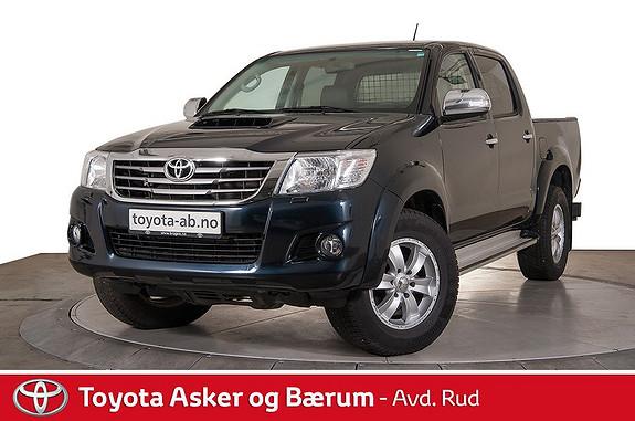 Toyota HiLux D-4D 171hk D-Cab Aut 4WD SR+  2014, 22500 km, kr 339000,-
