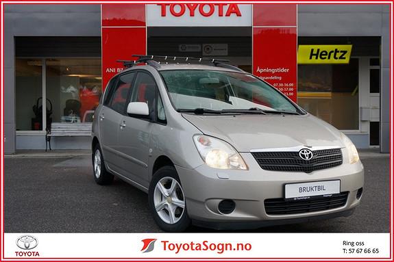 Toyota Corolla Verso 1,6 Terra  2002, 170197 km, kr 49000,-