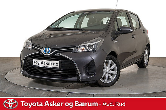 Toyota Yaris 1,5 Hybrid Active Nye typen med Dab+ og Navigasjon  2014, 33450 km, kr 169000,-