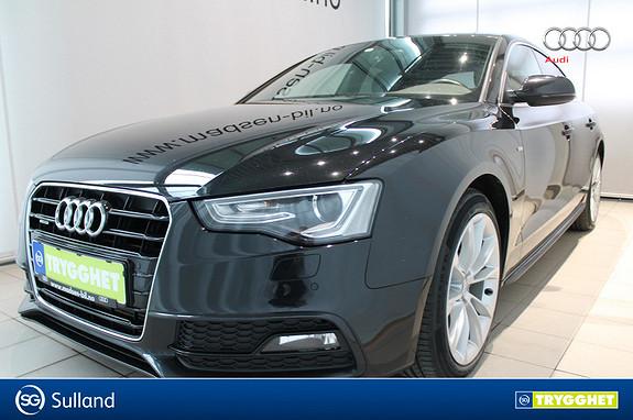 Audi A5 Sportback 2,0 TDI 177hk quattro WEBASTO, ADAPTIVE CRUIS
