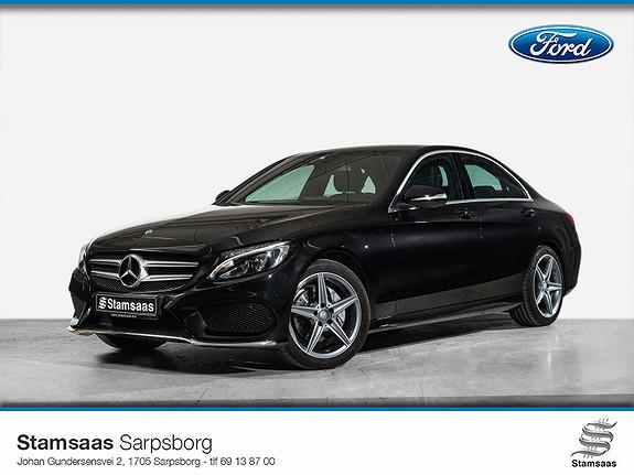 Mercedes-Benz C-Klasse C180 aut l AMG l Norsk bil l Navi l Kamera l Skinn l