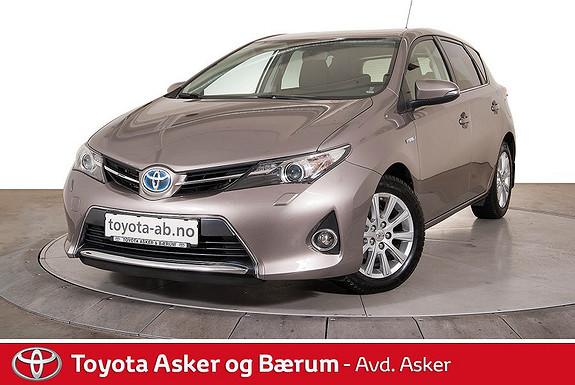 Toyota Auris 1,8 Hybrid E-CVT Active+ RENTEKAMPANJE, DAB+, NAVI, +++  2014, 42500 km, kr 209000,-