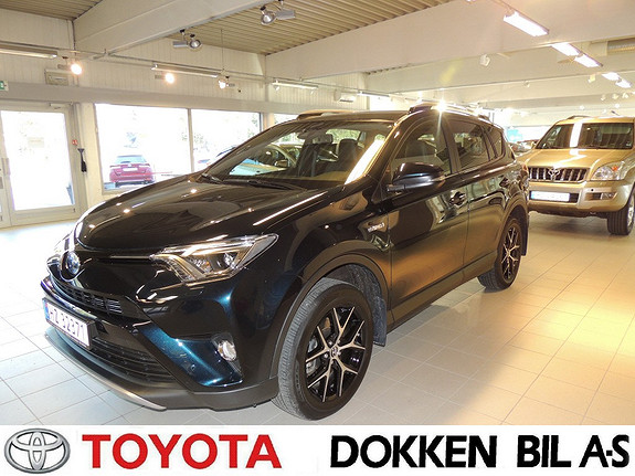 Toyota RAV4 Hybrid AWD Active Style tectylert  2017, 3700 km, kr 459000,-