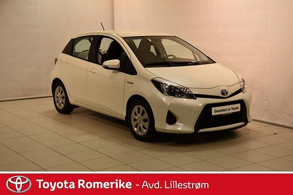 Toyota Yaris 1,5 Hybrid Active  2014, 26582 km, kr 179000,-