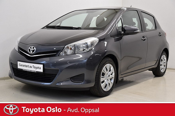 Toyota Yaris 1,33 Active , Navigasjon,  2013, 45436 km, kr 139900,-