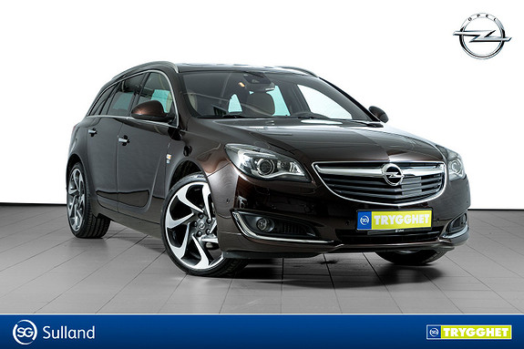 Opel Insignia Sports Tourer Premium CDTi 136hk aut UTSTYRSBOMBE