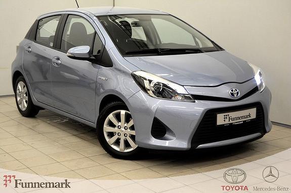 Toyota Yaris 1,5 Hybrid Active 100HK, DAB-RYGGEKAM-DEFA-AUTOMATGIR  2014, 74000 km, kr 146000,-