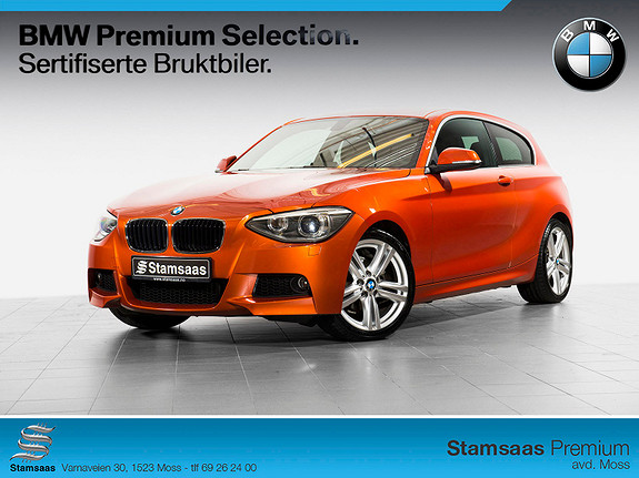 BMW 1-serie 116d Automat M SPORT, DAB+, NAVI, TLF, NY I NORGE!