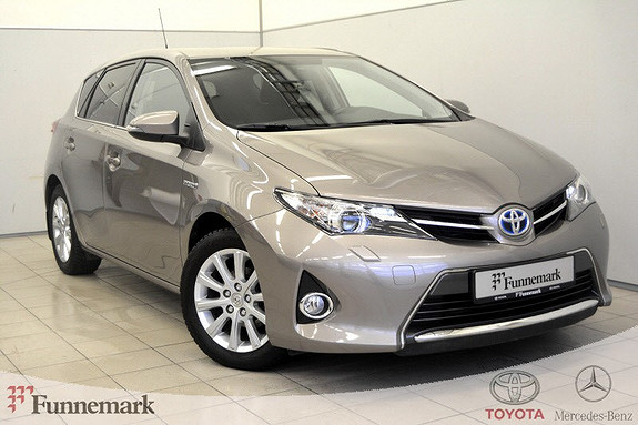 Toyota Auris 1,8 Hybrid E-CVT Active+ Navi, Dab, ryggekam, cruisekont  2014, 45000 km, kr 199000,-