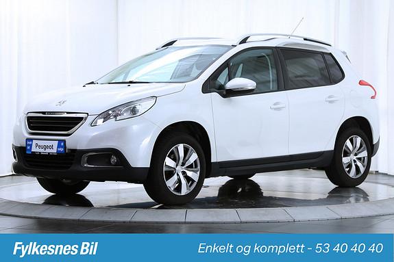 Peugeot 2008 Active 1,2 VTi 82hk DAB+, Parksensorbak, Isofix, AUX  2014, 31100 km, kr 169900,-